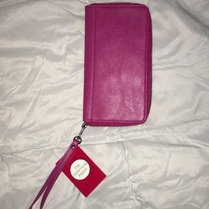 Handbags - NEW Hot Pink Wallet Purse Pouch